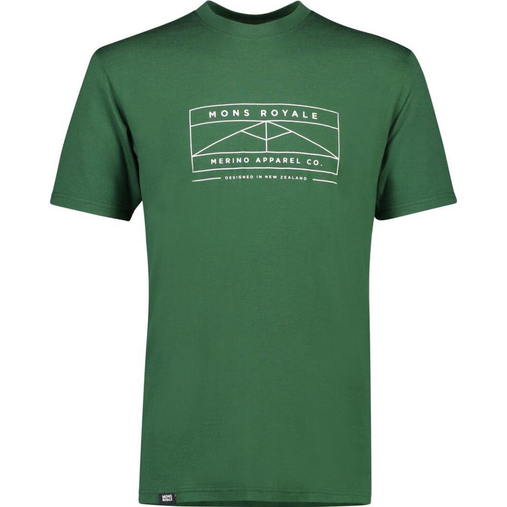 Bluze termice Mons Royale Icon T-Shirt Pine