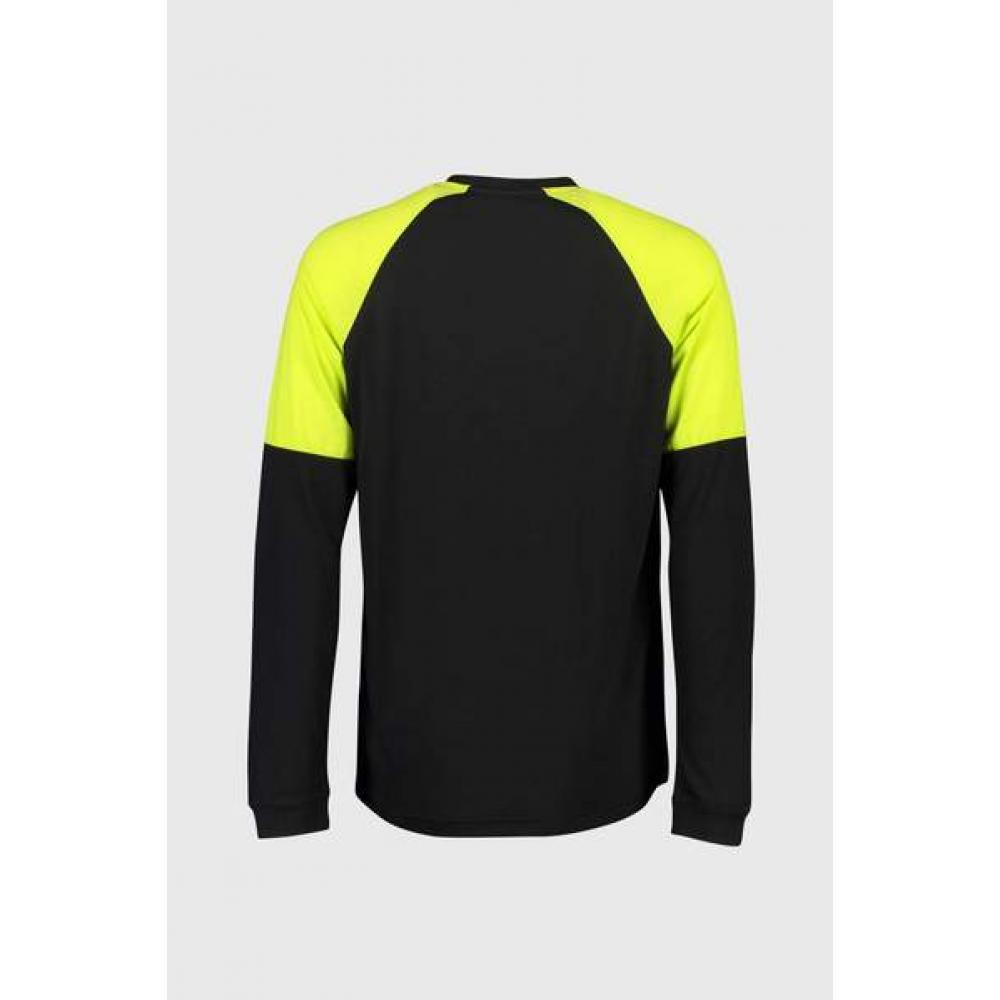 MONS ROYALE BLUZA TARN FREERIDE LS WIND JERSEY-BK LIME