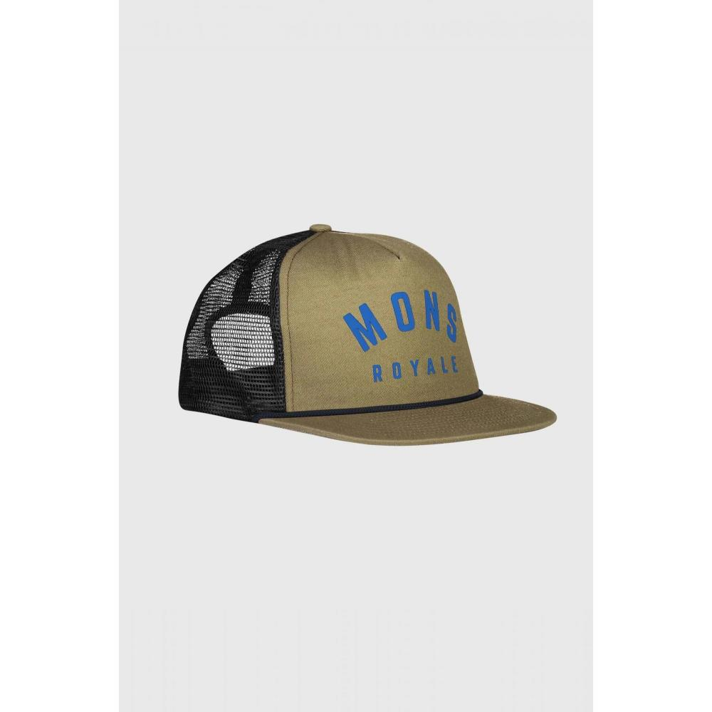 MONS ROYALE SAPCA THE ACL TRUCKER CAP OLIVE UNISEX OS