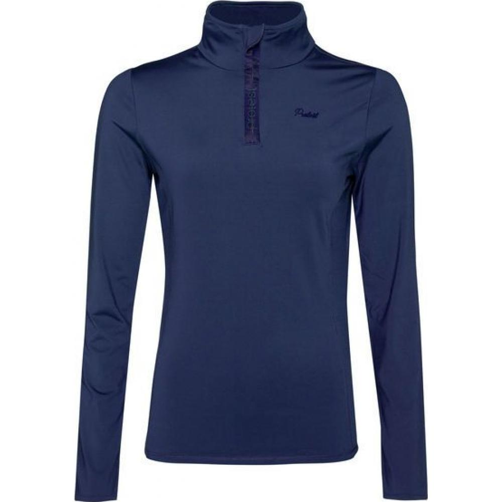 Protest Fabrizoy 1/4 Zip Top Blue Navy