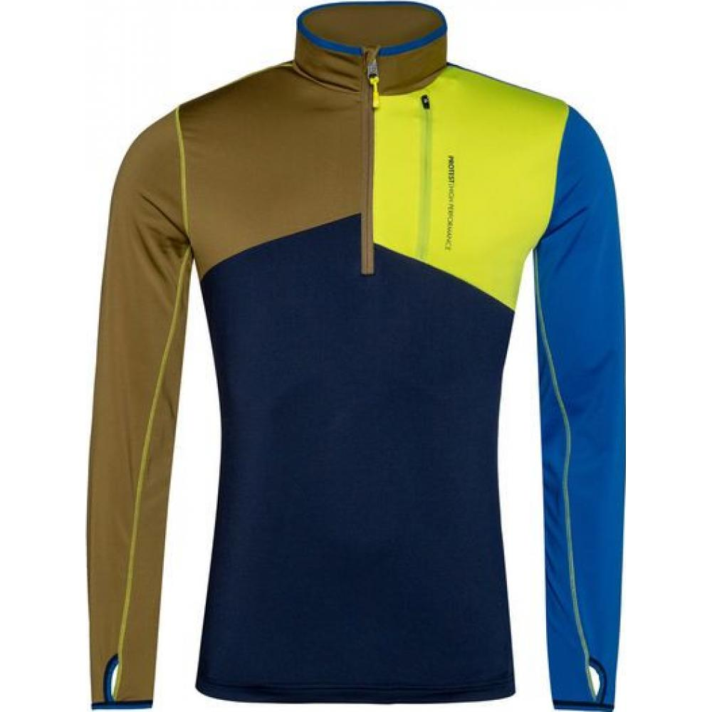 Protest Matson 1/4 Zip Top Sporty Blue