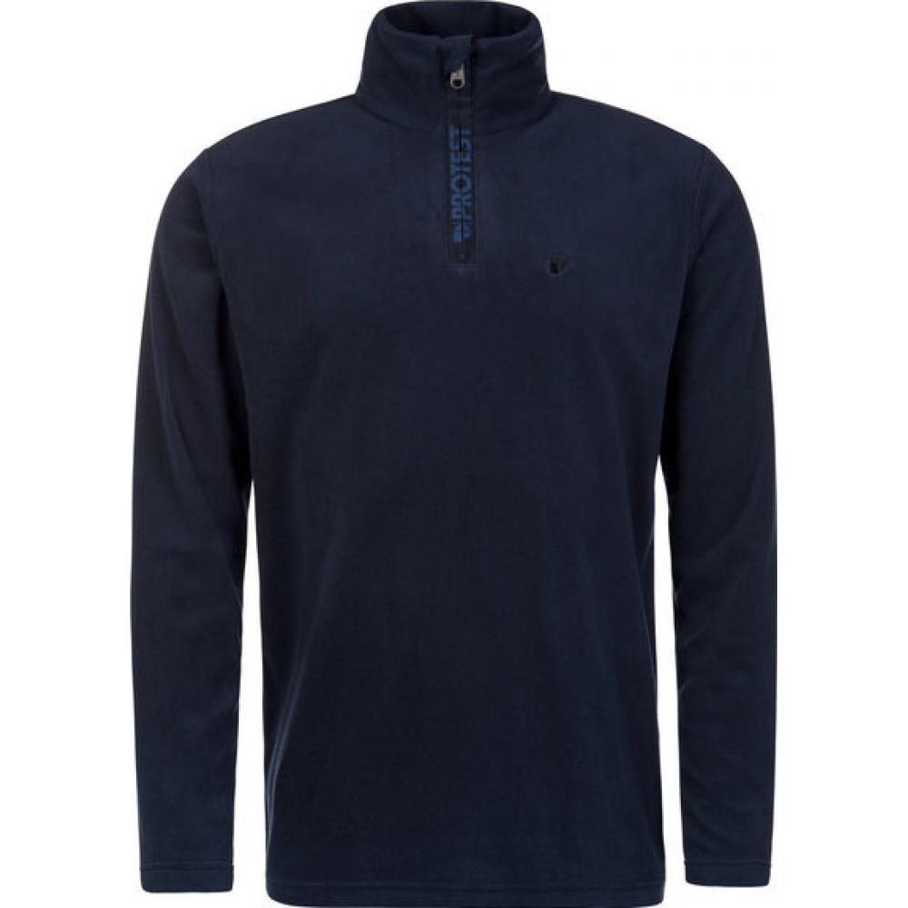 Protest Perfecty 1/4 Zip Top Ground Blue