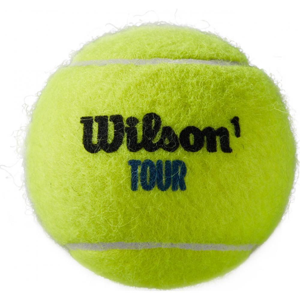 Set mingi tenis Wilson Tour Premier All Court, 4 mingi set