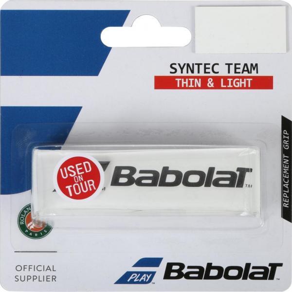 BABOLAT GRIP SYNTEC TEAM WHITE