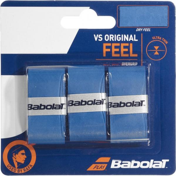 BABOLAT OVERGRIP VS ORIGINAL X3 BLUE