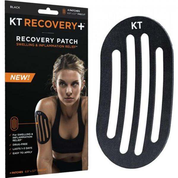 Benzi KT Recovery + Recovery Patch Black