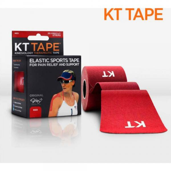 Benzi KT Tape Cotton Precut Red