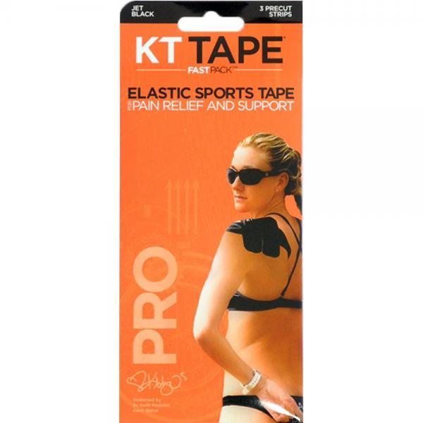 Benzi KT Tape Pro Fast Pack X3 Precut Black
