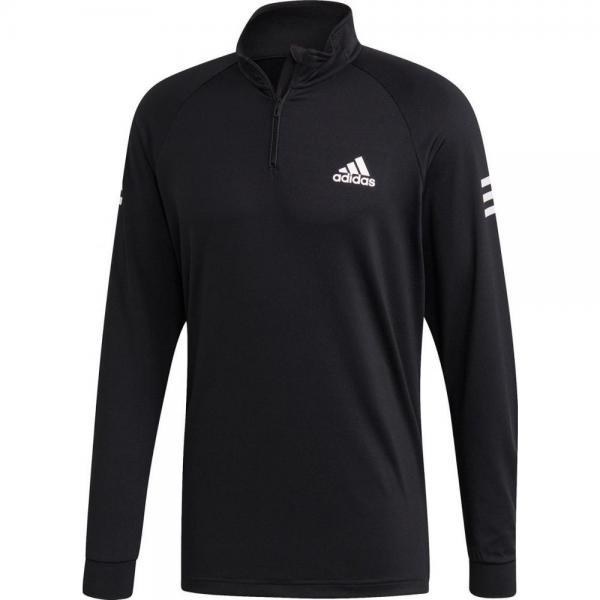 Bluza ADIDAS CLUB 1/4 ZIP BLACK/WHITE