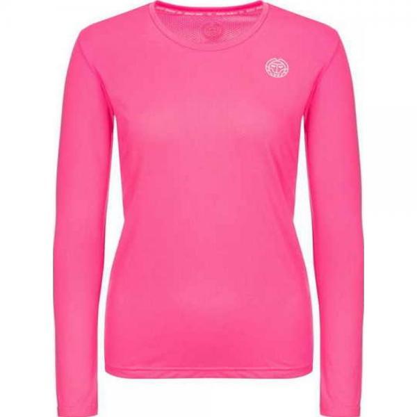 Bluza cu maneca lunga Bidi Badu Pia Tech Pink