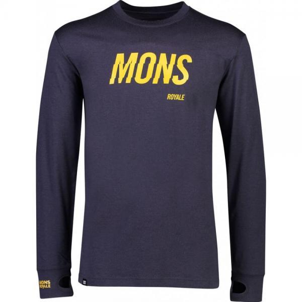 Bluze termice Mons Royale Yotei Tech LS 9 Iron