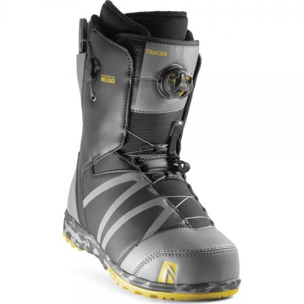 Boots Snowboard Nidecker Tracer H-Lock Boa Coiler Spacegrey