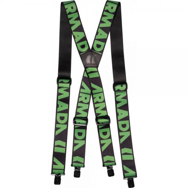 Bretele Armada  Stage Suspenders BLACK