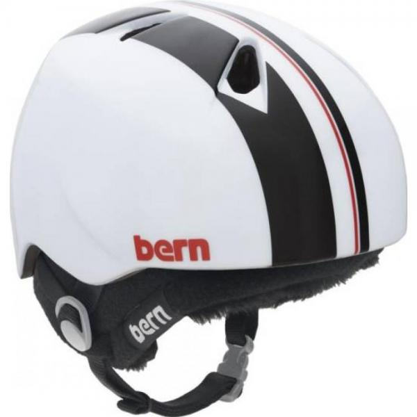 Casca Bern Gloss White Racing Stripe