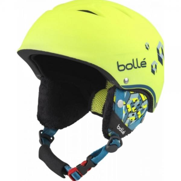 Casca Bolle B-Free Soft Neon Yellow