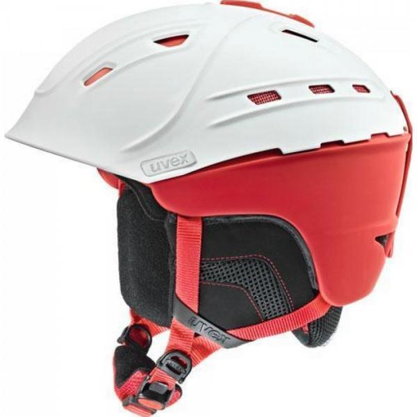 Casca Schi Uvex P2US White/Red