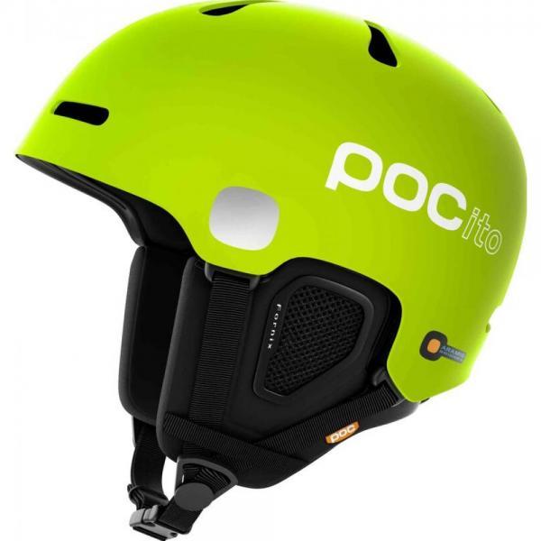 Casca ski si snowboard Poc POCito Fornix Fluorescent Yellow/Green