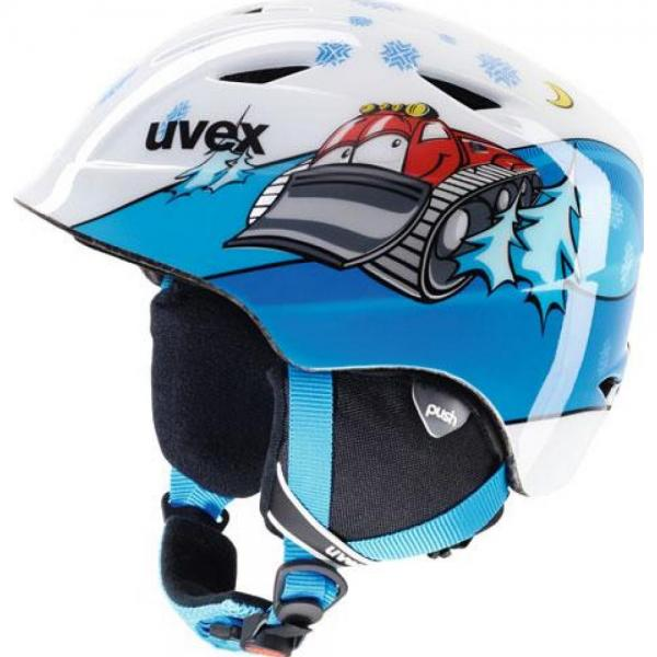 Casca Uvex Airwing 2 Pro Jr Blue & White
