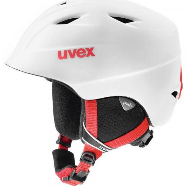 Casca Uvex Airwing 2 Pro Jr White & Red