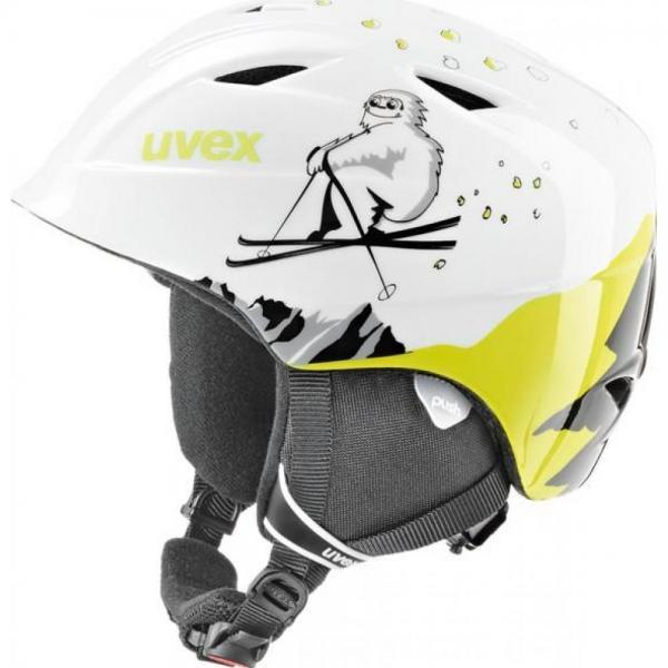Casca Uvex Airwing 2 Pro Jr White & Yellow