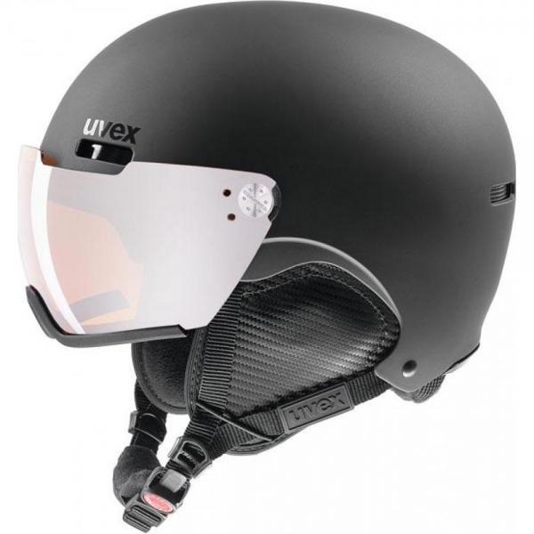 Casca Uvex HLMT 500 Visor Black S2