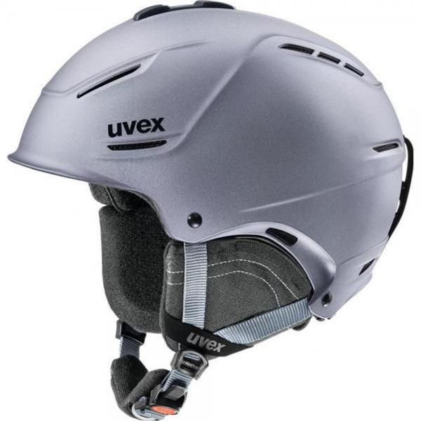 Casca Uvex P1us Grey Shinny