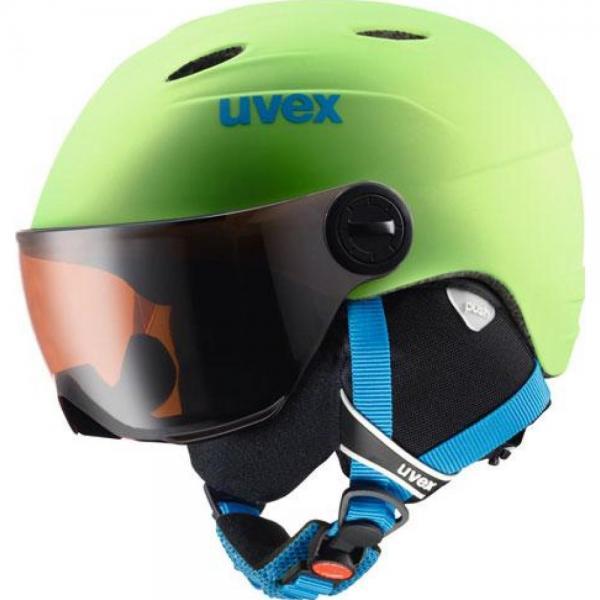 Casca Uvex Visor Pro Jr Green