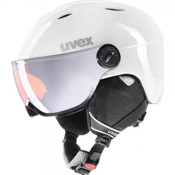 Casca Uvex Visor Pro Jr White