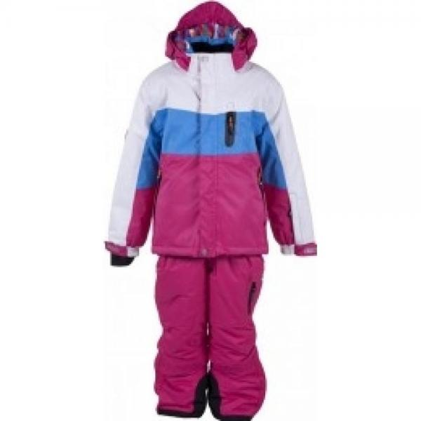 Costum ski Color Kids Javas Dark Pink