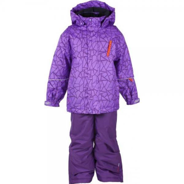 Costum ski Color Kids Jussi Pansy