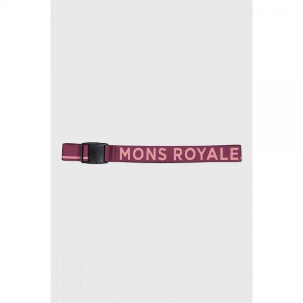 Curea Mons Royale Mons Belt Eggplant / Dusty Pink