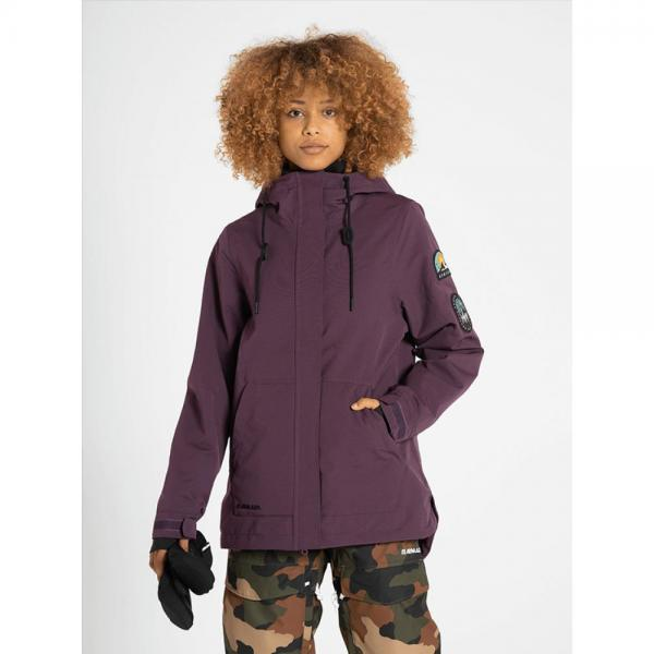 Geaca Armada Helena Insulated Plum