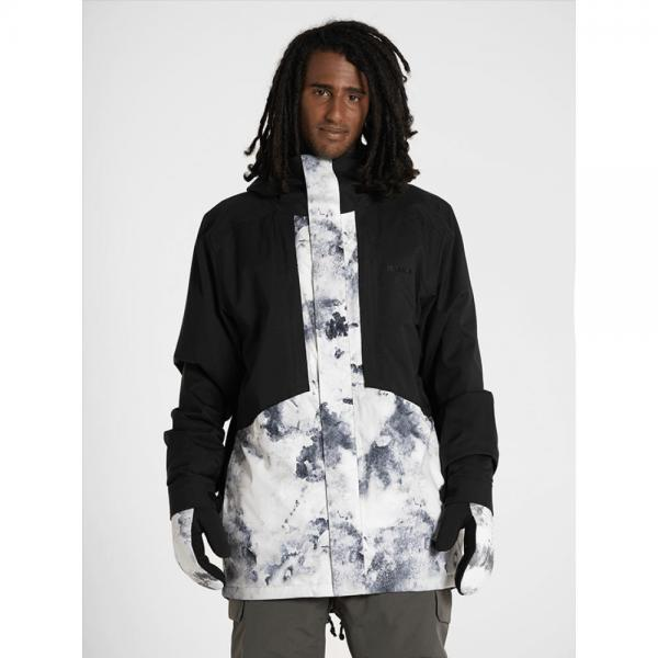 Geaca Armada Oden Insulated Jacket BLACK/WHITEWATER