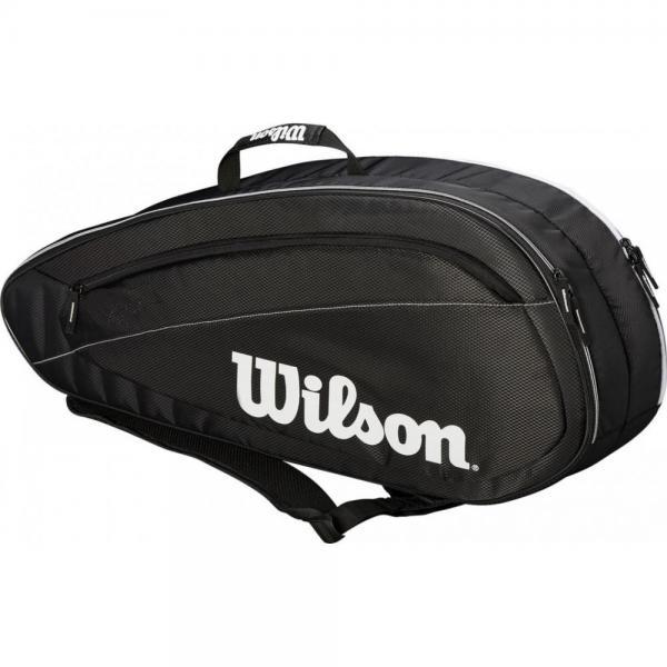Geanta Wilson Federer Team 6R Black