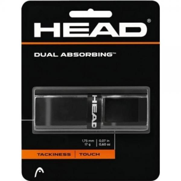 GRIP HEAD DUAL ABSORBING Negru