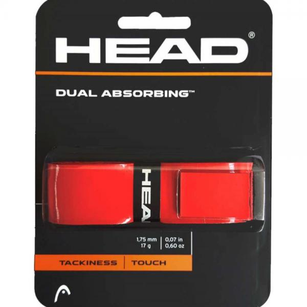 GRIP HEAD DUAL ABSORBING ROSU