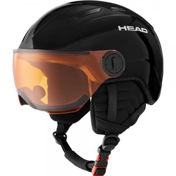 HEAD CASCA MOJO VISOR BLACK