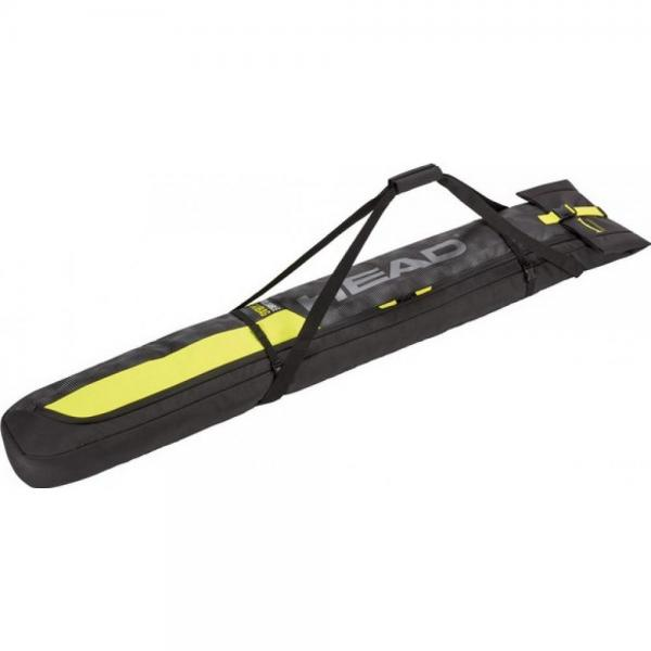 Husa Ski Head SINGLE Antracite Neon