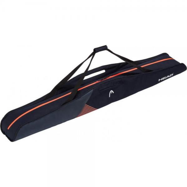 Husa Ski Head Single W Black/Orange