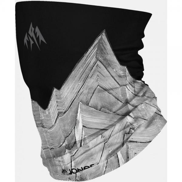 JONES NECKWARMER ANCIENT LAYERS BLACK/WHITE