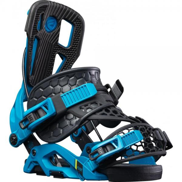 Legaturi snowboard Flow Fuse Hybrid Blue/Black