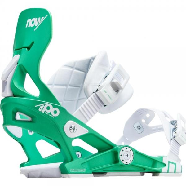 Legaturi Snowboard Now Ipo Green