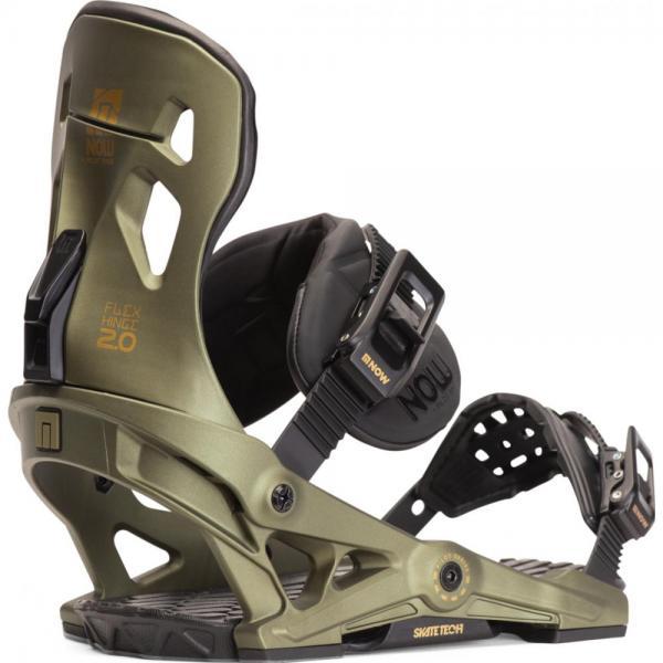 Legaturi snowboard Now Pilot Dark Green