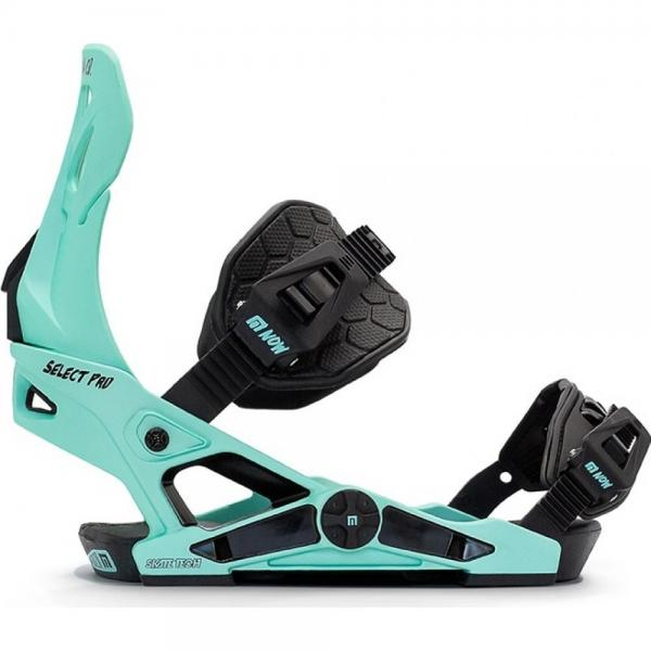 Legaturi snowboard NOW SELECT PRO AQUAMARINE