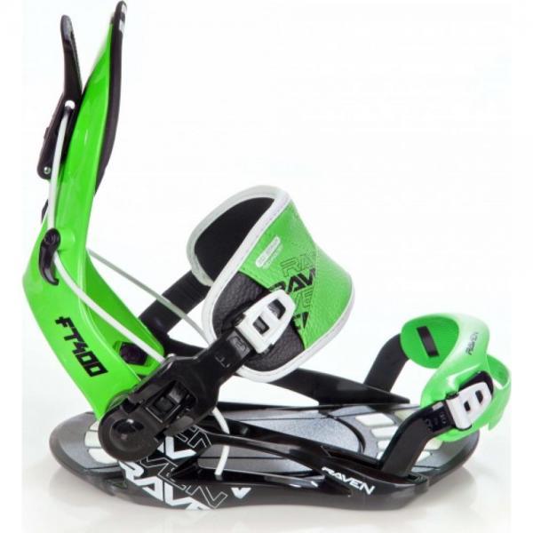 Legaturi Snowboard Raven FT400 Green