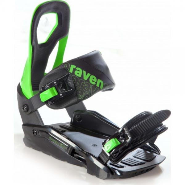 Legaturi Snowboard Raven S200 Green