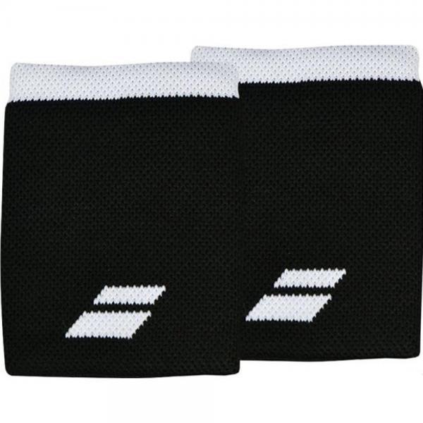 Manseta Babolat Jumbo Logo Black/White