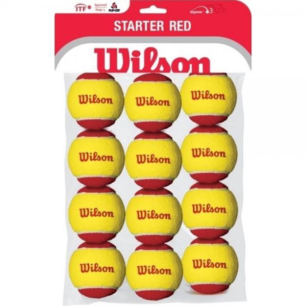 Mingi Wilson Starter Red TBALL 12PACK