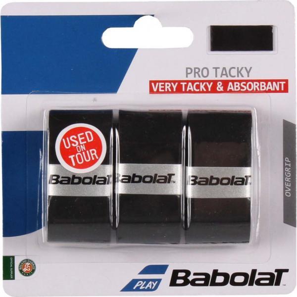 Overgrip Babolat Pro Tacky x3 Negru