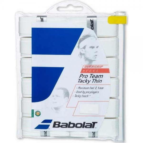 Overgrip Babolat Pro Team Tacky Thin X12